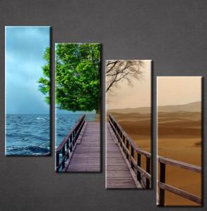 Slika na platnu Most i drvo Nina3067_4