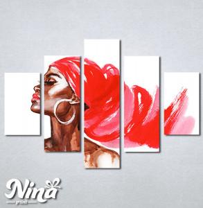 Slike na platnu Afrička devojka Nina309_5
