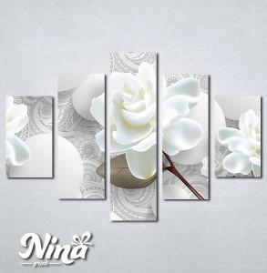 Slike na platnu Bež ruža Nina275_5