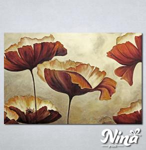 Slike na platnu Braon cvet Nina303_P