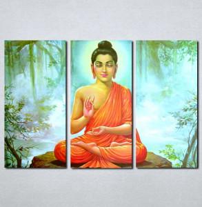 Slike na platnu Buda Nina074_3