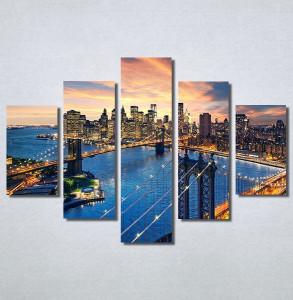 Slike na platnu City and sunset Nina30227_5