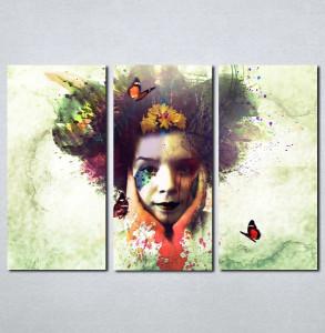 Slike na platnu Čudna devojka Nina060_3