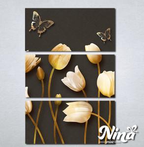 Slike na platnu Cvetna čarolija Nina299_3