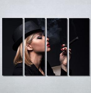 Slike na platnu Dama u crnom Nina30345_4