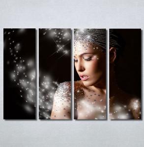 Slike na platnu Devojka i dijamanti Nina30357_4