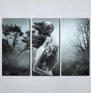 Slike na platnu Devojka i priroda Nina073_3
