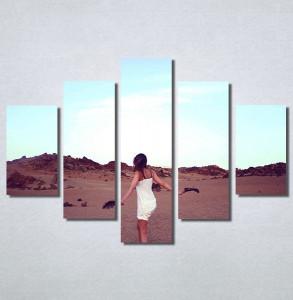 Slike na platnu Devojka na plaži Nina30198_5