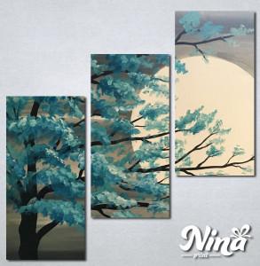 Slike na platnu Drvo i mesecNina235_3