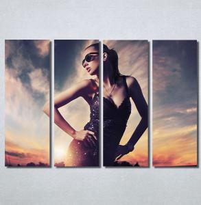 Slike na platnu Fashion girl Nina30147_4