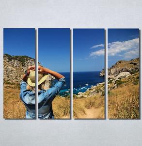 Slike na platnu Girl and sea Nina30155_4