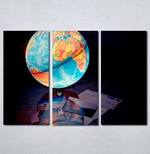 Slike na platnu Globus Nina213_3