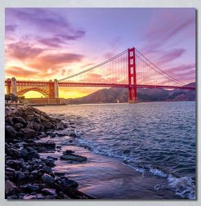 Slike na platnu Golden Gate Bridge Nina30287