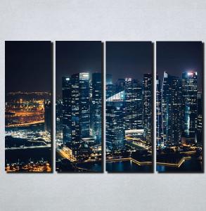 Slike na platnu Gradovi nocu Nina158_4