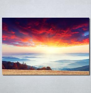 Slike na platnu Izlazak sunca Nina30336_P