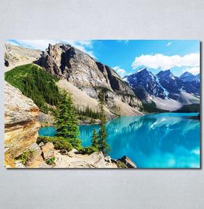 Slike na platnu Jezero na planini Nina30338_P