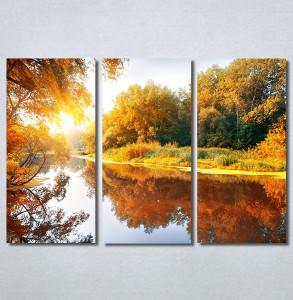 Slike na platnu Jezero u jesen Nina30368_3