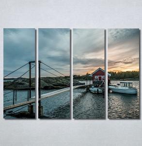 Slike na platnu Kuća na vodi Nina30356_4