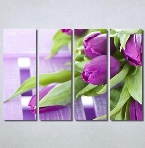 Slike na platnu Ljubicaste lale Nina30340_4