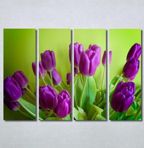 Slike na platnu Ljubičaste lale tulipani Nina30350_4