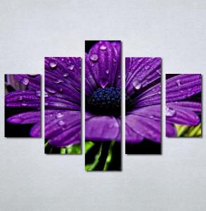 Slike na platnu Ljubicasti veliki cvet Nina132_5
