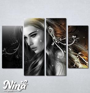 Slike na platnu Mistična devojka Nina227_4