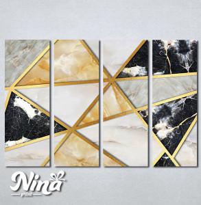 Slike na platnu Moderan mermer Nina287_4