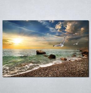 Slike na platnu More i galebovi Nina045_P