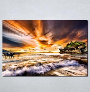 Slike na platnu More i zalazak sunca Nina068_P