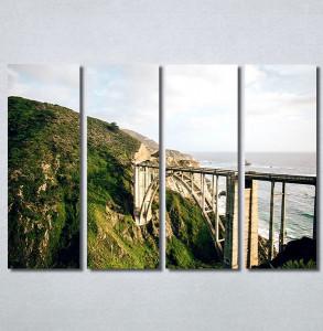 Slike na platnu Most na moru Nina30359_4