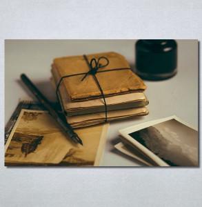 Slike na platnu Naliv pero i pisma Nina30278_P