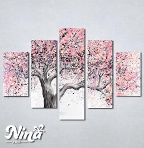 Slike na platnu Neobicno drvo Nina241_5