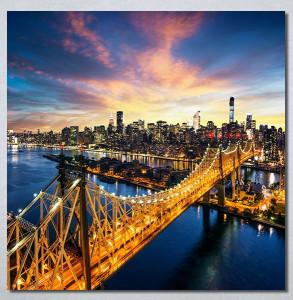 Slike na platnu New York city Nina30260