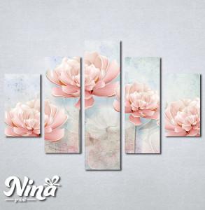 Slike na platnu Nežno roze cvet Nina259_5