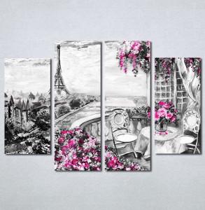 Slike na platnu Paris Nina150_4