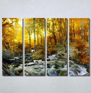 Slike na platnu Potok kroz šumu Nina30273_4