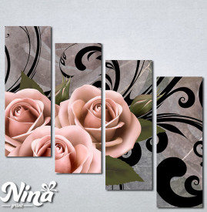 Slike na platnu Ruže Nina286_4