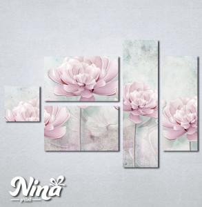 Slike na platnu Svetlo lila cvet Nina261_5
