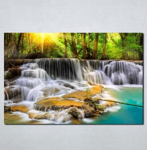 Slike na platnu Vodopad Nina071_P