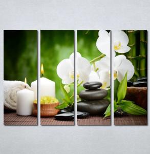 Slike na platnu Wellness spa bela orhideja Nina 181_4