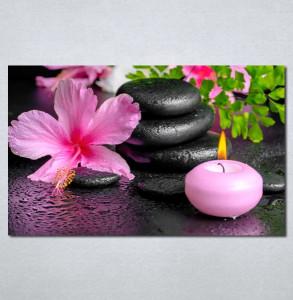 Slike na platnu Wellness spa roze orhideja Nina 180_P