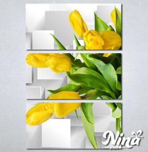Slike na platnu Zute lale Nina322_3