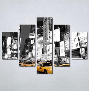 Slike na platnu Zuti taxi Nina134_5