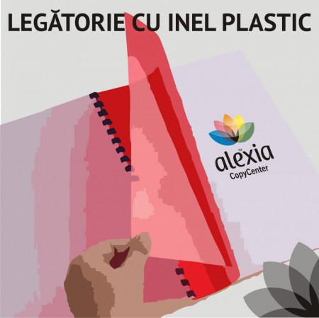 Legatorie cu inel plastic