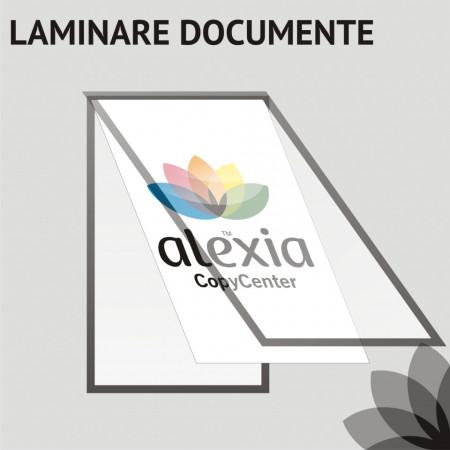 laminare documente