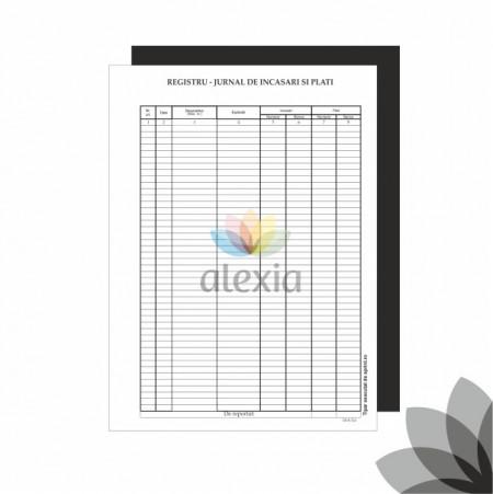 Registru jurnal de Incasari si plati