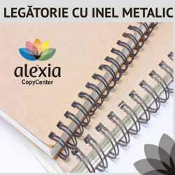 Legatorie cu inel metal