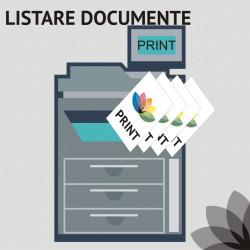 Listare documente