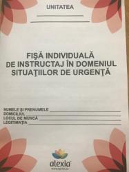 Fisa individuala de instructaj In domeniul situatiilor de urgenta (color)