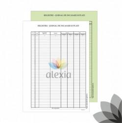 Registru jurnal de Incasari si plati A4 autocopiativ